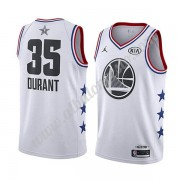 Camisetas NBA Baratas Golden State Warriors 2019 Kevin Durant 35# Blanco All Star Game Swingman..